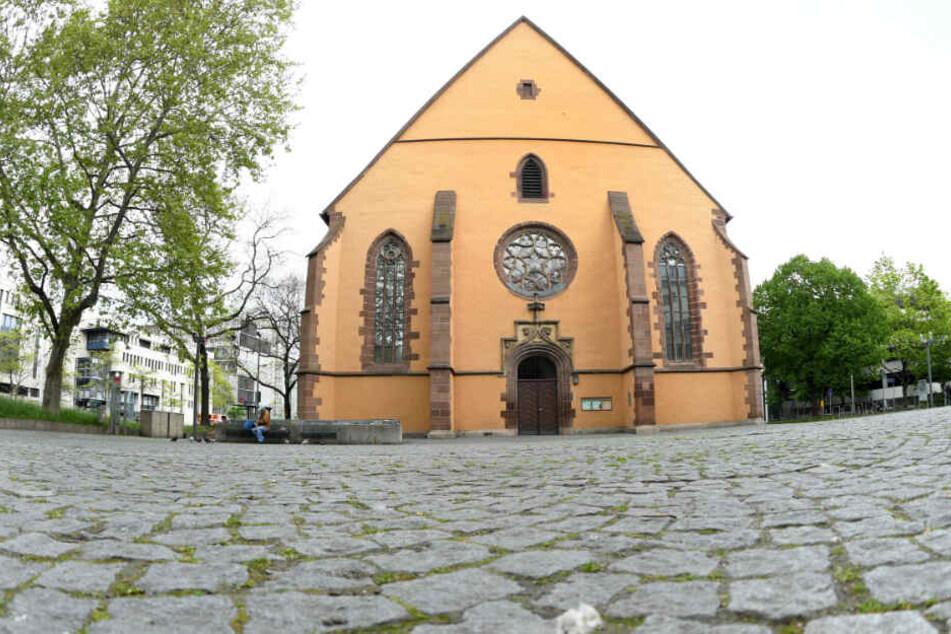 Evangelische Leonhardskirche in Stuttgart: Hier begann das Leben auf der Straße.