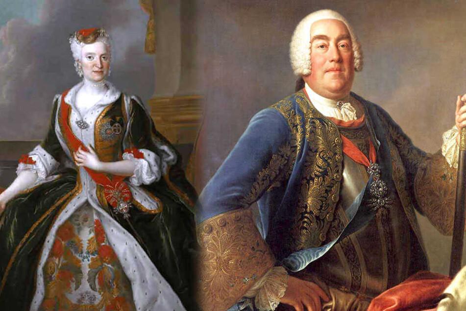 Die Ehe von Friedrich August II. und der Kaiserstochter Maria Josepha war zwar arrangiert worden, doch aus ihrer Liebe entstanden 15 Kinder.