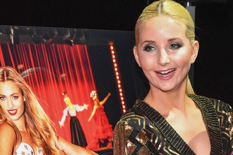 Model Anna Hiltrop (24) aus Düsseldorf.