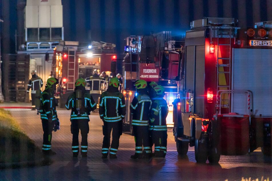Erzgebirge: Mehrere tausend Euro Schaden bei Brand in Firma