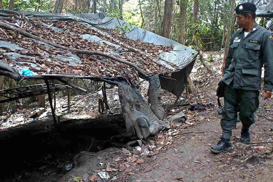 Militär entdeckt Massengrab mit 28 Toten