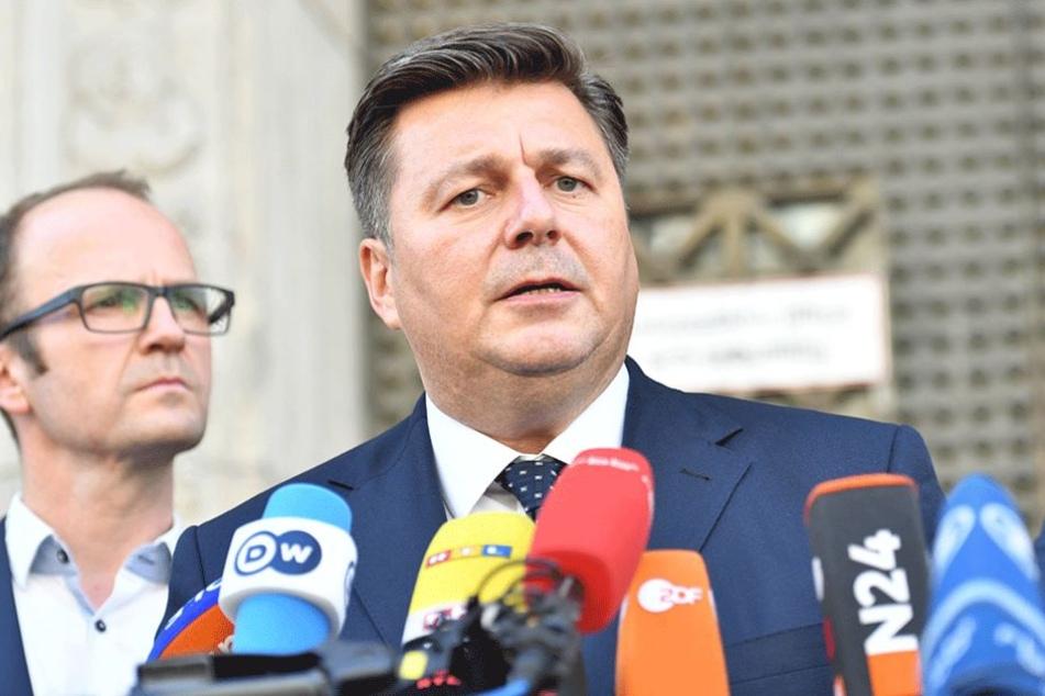 Innensenator Andreas Geisel (SPD) kritisiert die Art der Fehlerkultur bei der Polizei.
