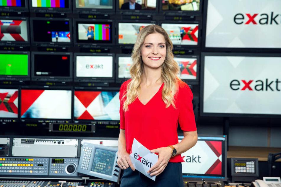 """Wiebke Binder wird ab April die MDR-Sendung """"Exakt"""" moderieren."""