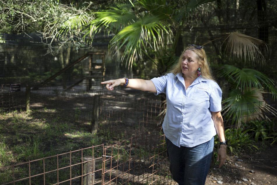 Tierschützerin Carole Baskin (59) hatte jahrelangen Streit mit Joe Exotic. Er beauftragte einen Killer, um sie zu töten.