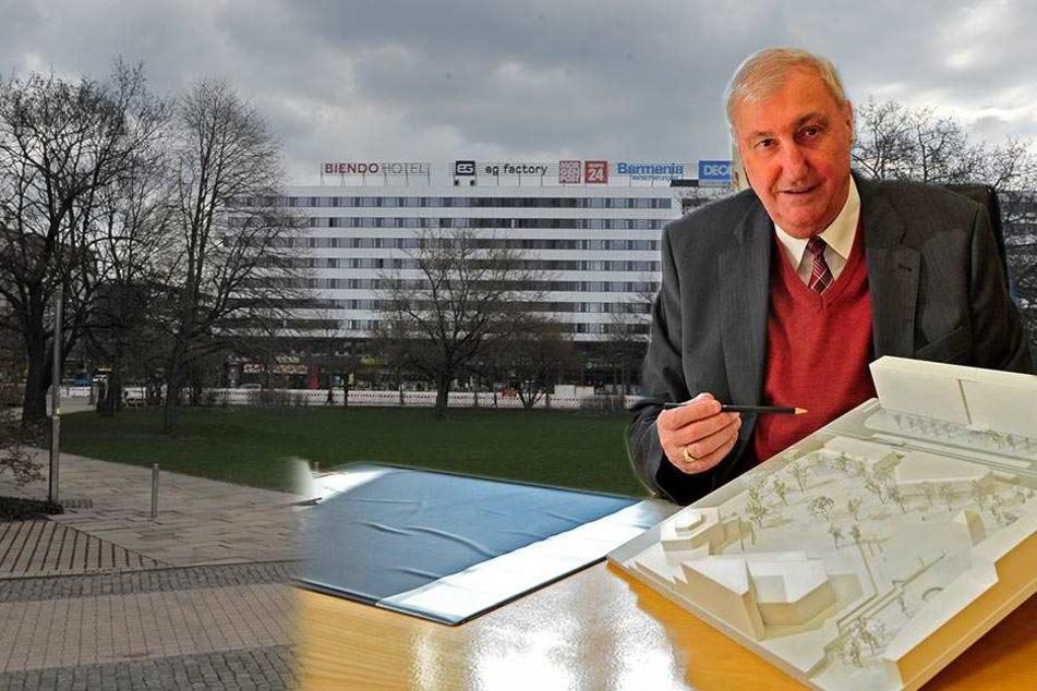 Exklusiv! Baulöwe Kellnberger enthüllt seine Pläne für den Stadthallenpark