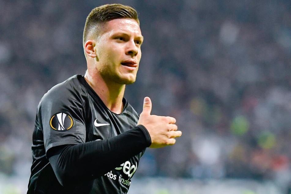 Für die Frankfurter Eintracht wurde Jovic in der abgelaufenen Saison zum absoluten Leistungsträger.