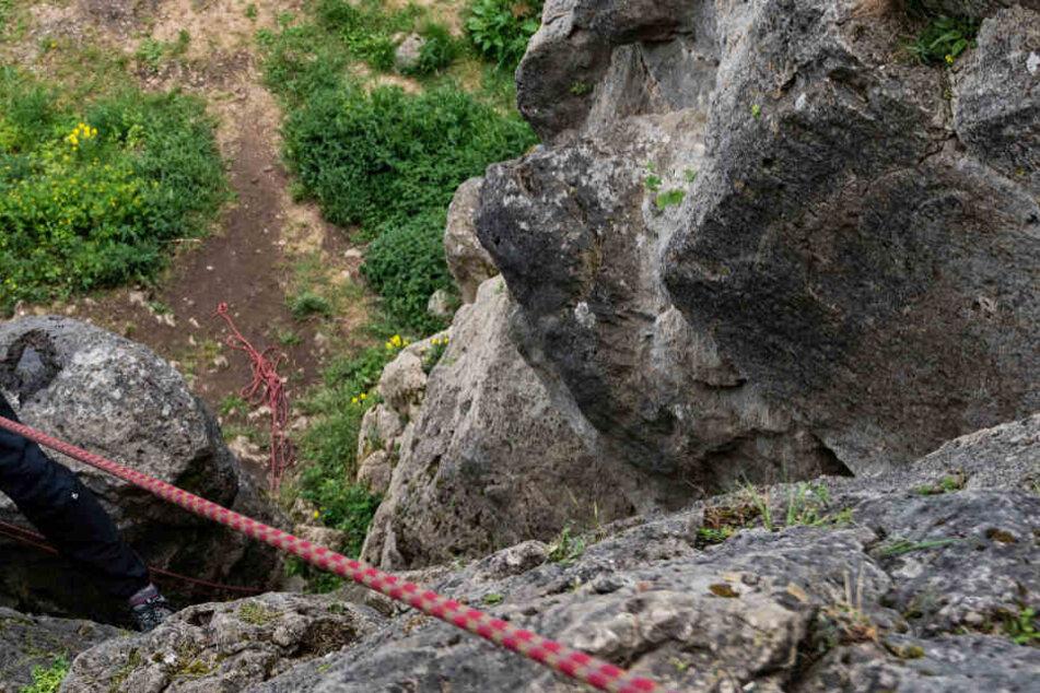 Der 28-Jährige stürzte beim Klettern in die Tiefe und starb. (Symbolbild)