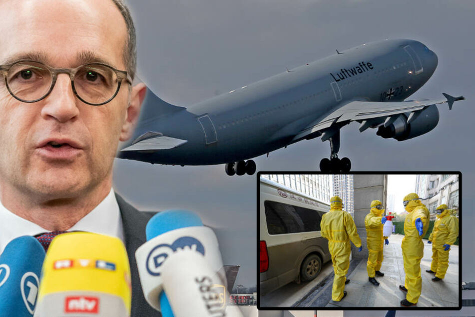 Coronavirus: Luftwaffe holt Deutsche aus Wuhan