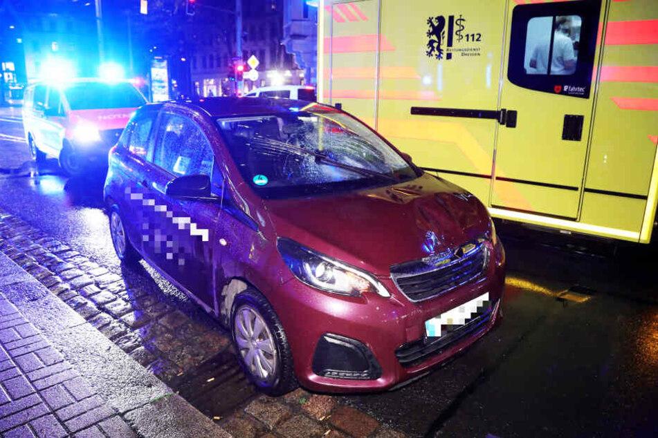 Der Sachschaden am Fahrzeug konnte noch nicht beziffert werden.