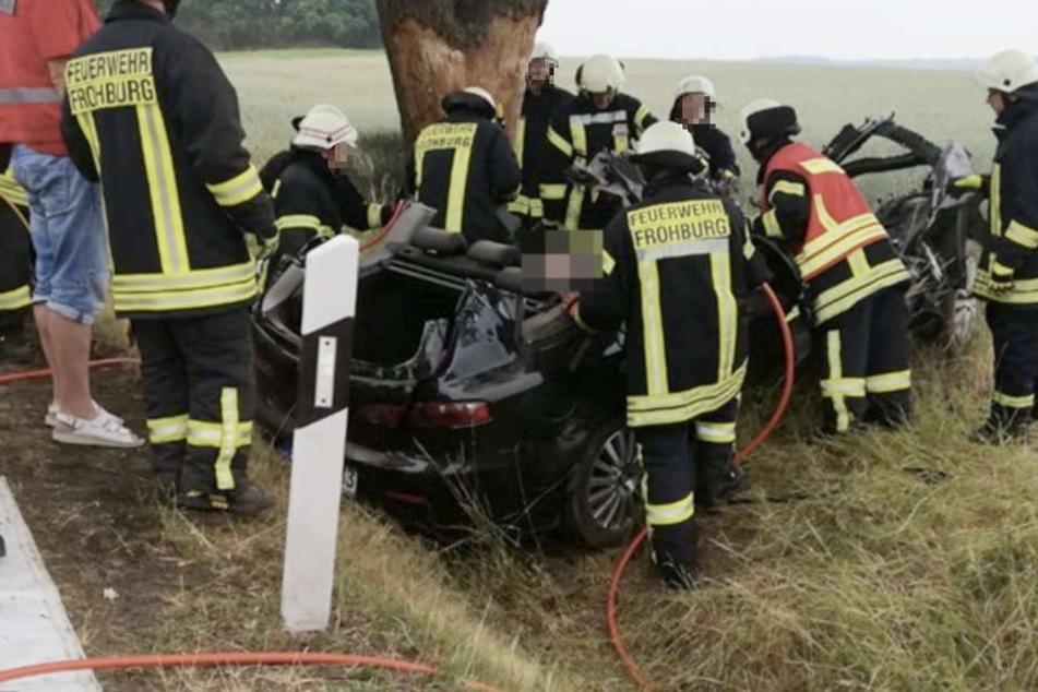 Unfall-Drama: In diesem Wrack musste eine Frau (†42) sterben