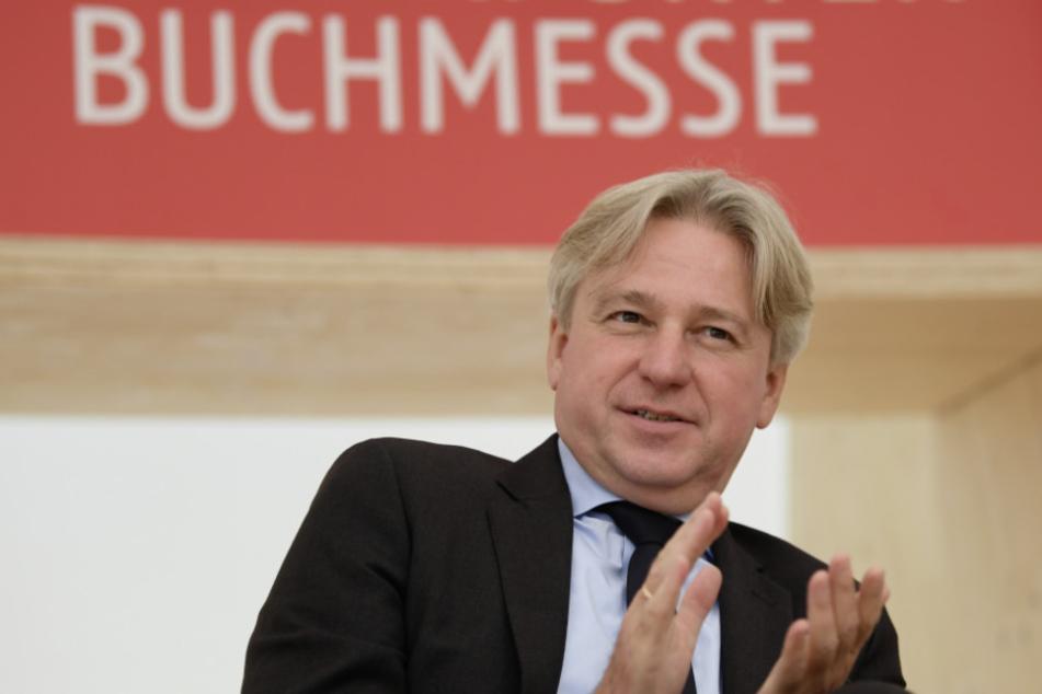 Buchmesse-Direktor Juergen Boos (59). (Archivbild)
