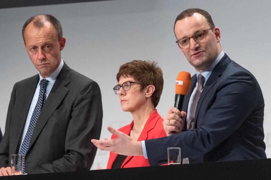 Bei der CDU zeichnet sich ein Dreikampf um die Nachfolge von Angela Merkel ab.