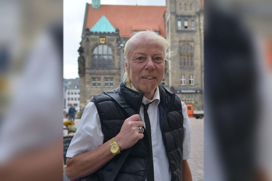 Glaubt an seine Chance: DJ Geyer möchte neuer Oberbürgermeister von Chemnitz werden.