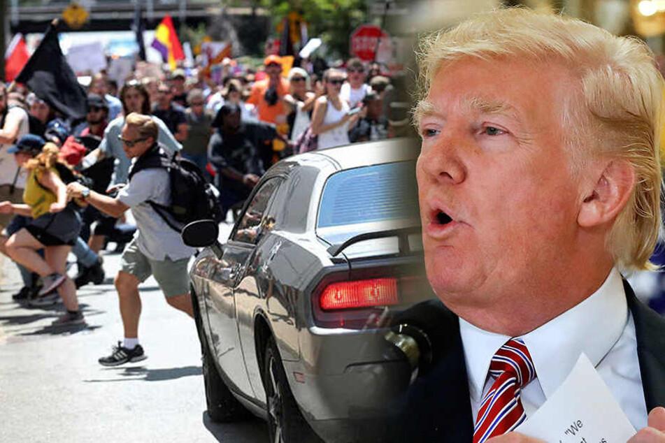 Mutter der bei Rassisten-Demo Getöteten will Trump nicht sprechen