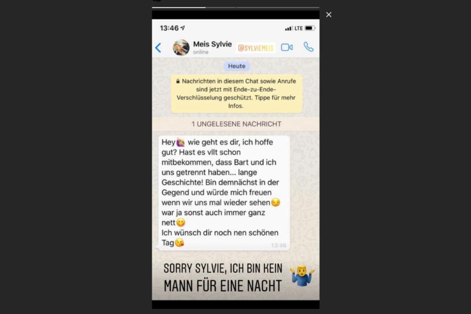 Diesen Status postete Paul Janke in seiner Instagram-Story.