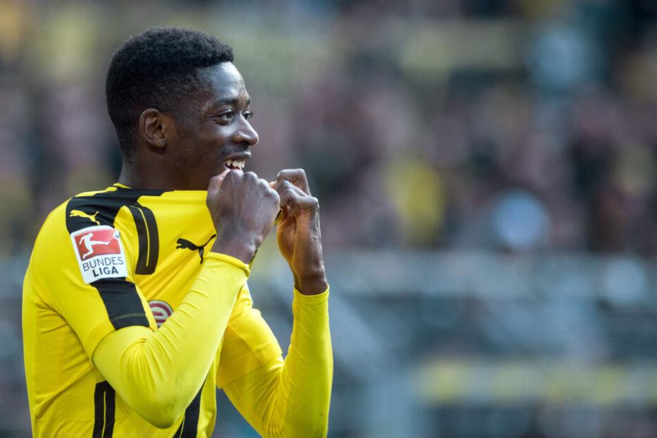 Wechselte 2016 für 15 Millionen Euro aus Rennes zum BVB. Ein Jahr später ging es für satte 125 Millionen weiter nach Barcelona: Ousmane Dembele.