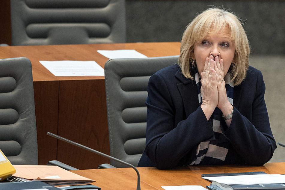 Die amtierende Ministerpräsidentin Hannelore Kraft (SPD) muss aktuell um ihr Amt bangen.