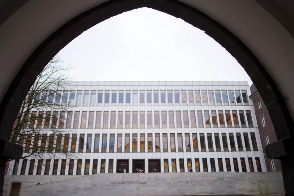 Der Prozess findet am Aachener Landgericht statt (Archivbild).