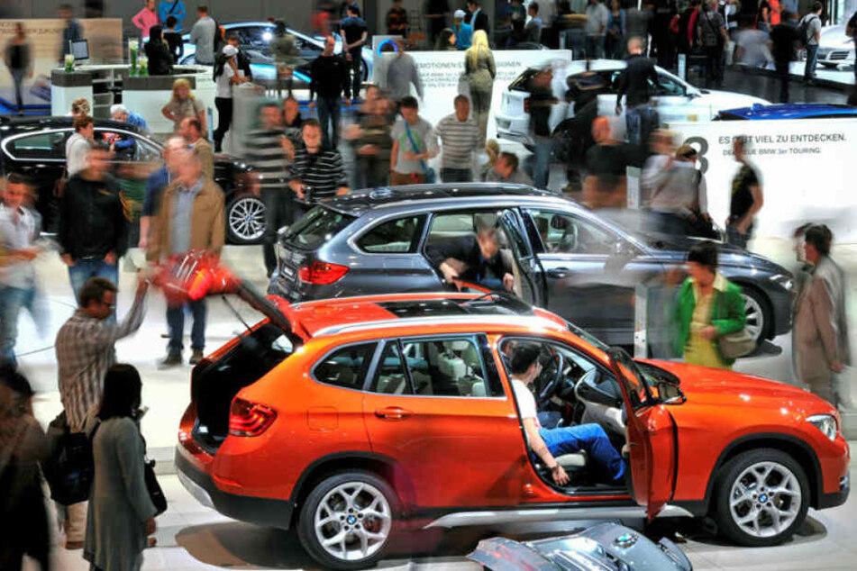 Da hatte Leipzig noch eine echte Automesse: Die AMI im Jahr 2012 mit 450 Ausstellern.