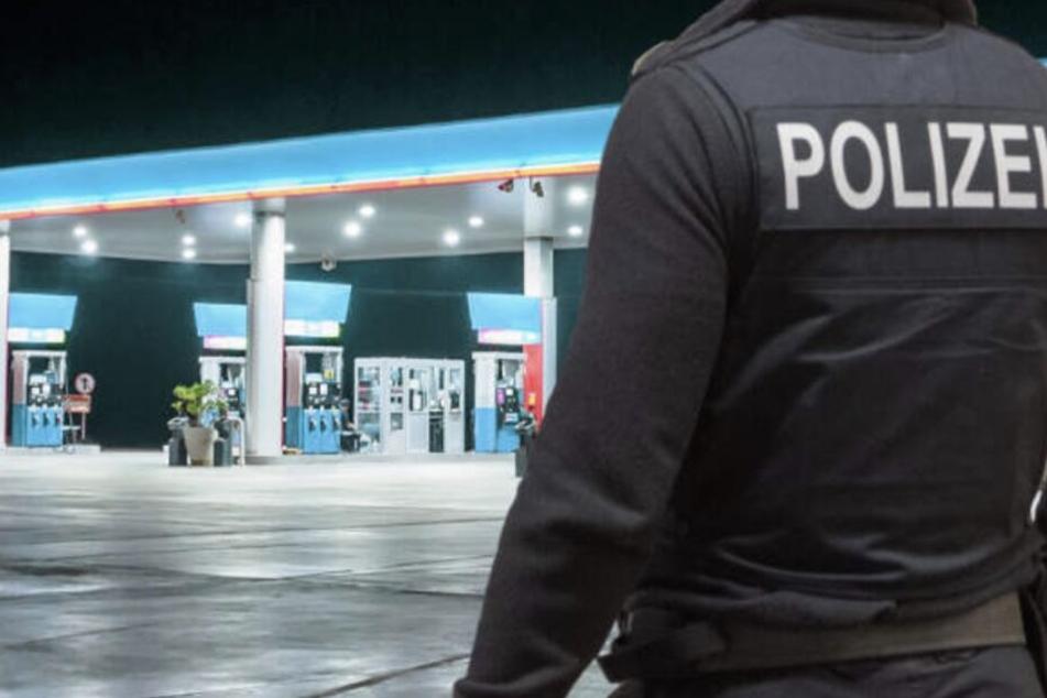 Leipzig: Maskierter Täter überfällt Tankstelle mit Pistole