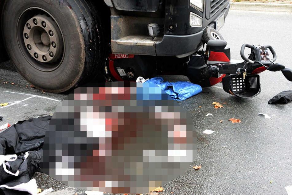 Der Rollstuhlfahrer (75) aus Gütersloh hatte keine Chance.