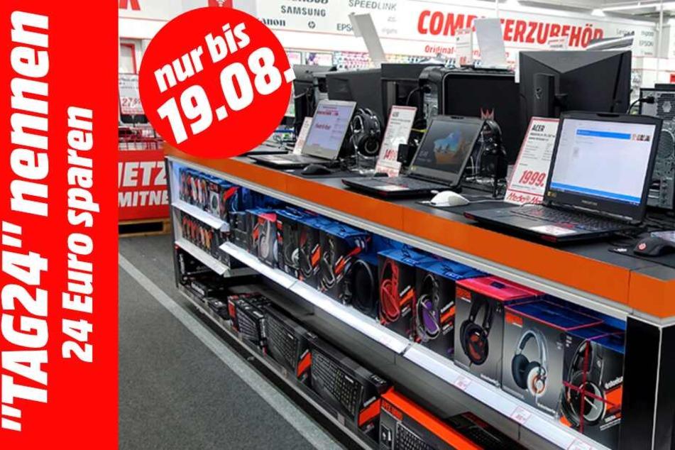 """Sagt Ihr dem Kassenpersonal das Codewort """"TAG24"""", spart Ihr auf den Einkauf 24 Euro."""