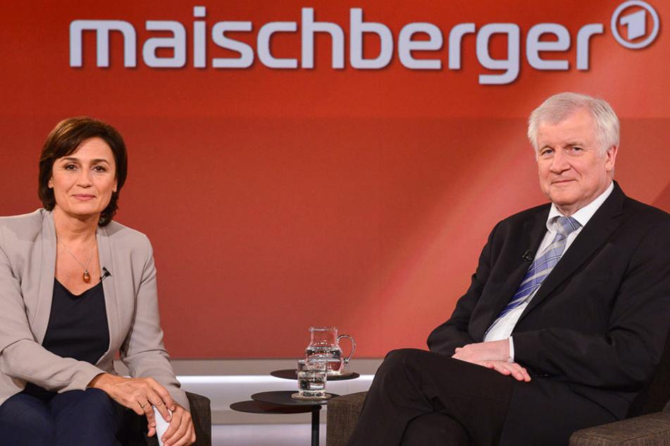 Vergangenen Mittwoch war Horst Seehofer alleiniger Gast der Talkshow.