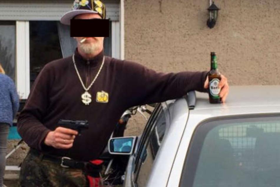 Mit diesem Bild suchte die Polizei nach dem Tatverdächtigen.
