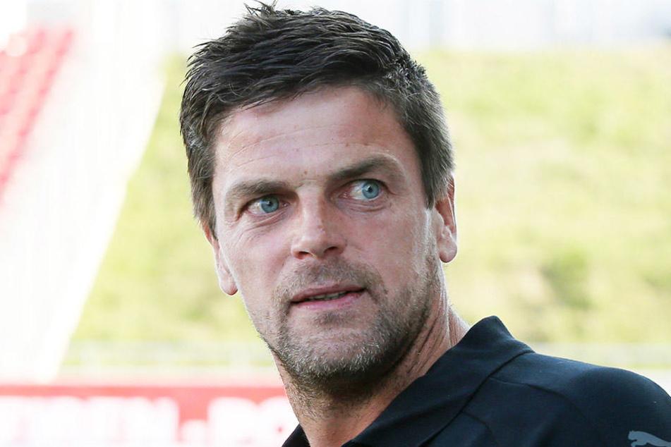 Zwickaus Coach Torsten Ziegner hat gegen die spielfreie Pause nichts einzuwenden.