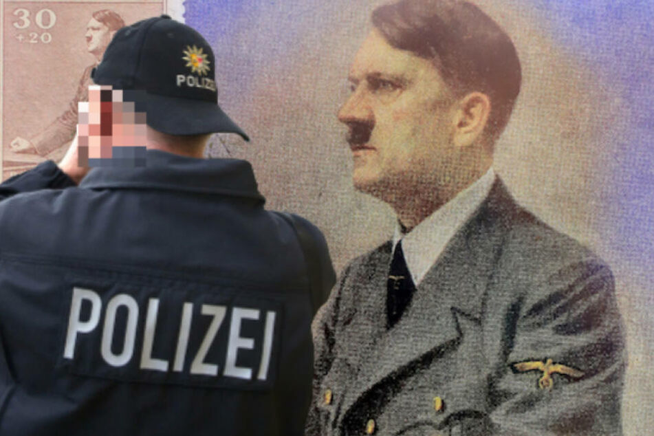 Strafversetzt! Polizist posierte mit Hitler-Bild und Nazi-Utensilien