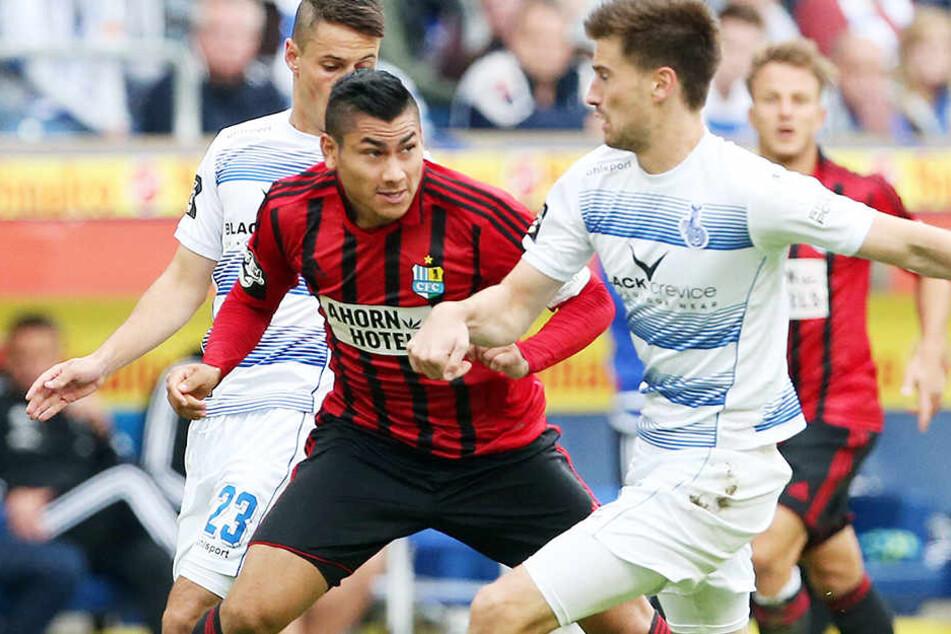 Mario Rodriguez stand für den CFC nur in drei Partienauf dem Platz.