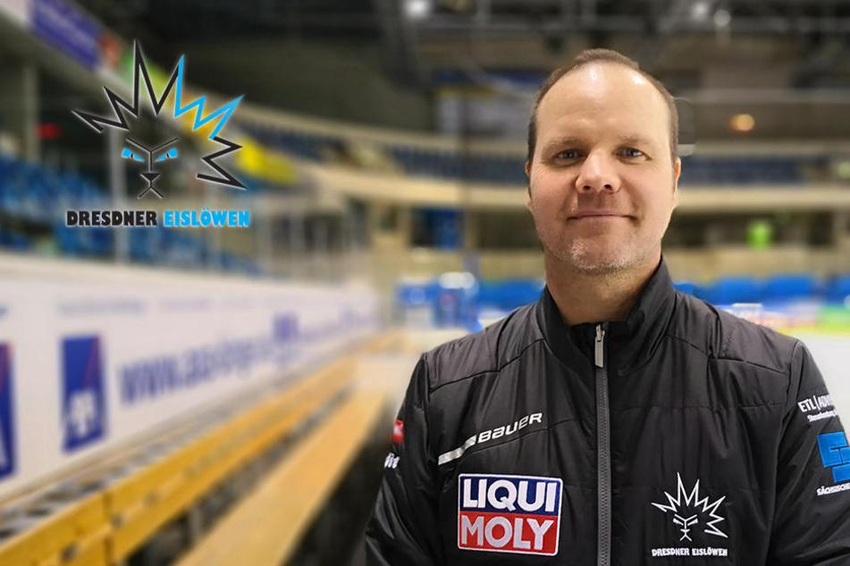 Eislöwen-Coach Gratton will im Derby den nächsten Dreier!