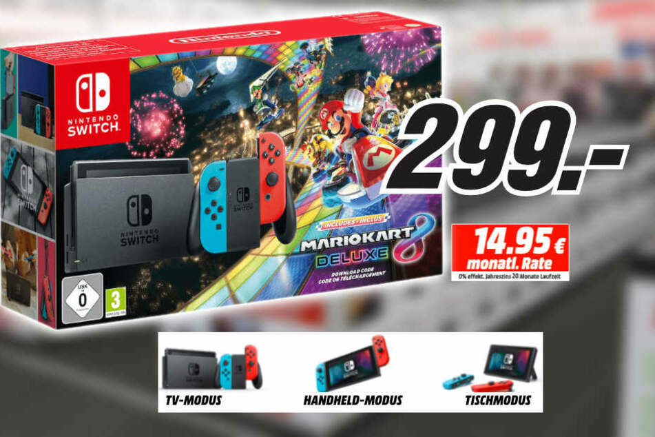 Das ideale Weihnachtsgeschenk: Nintendo Switch jetzt mega günstig ...