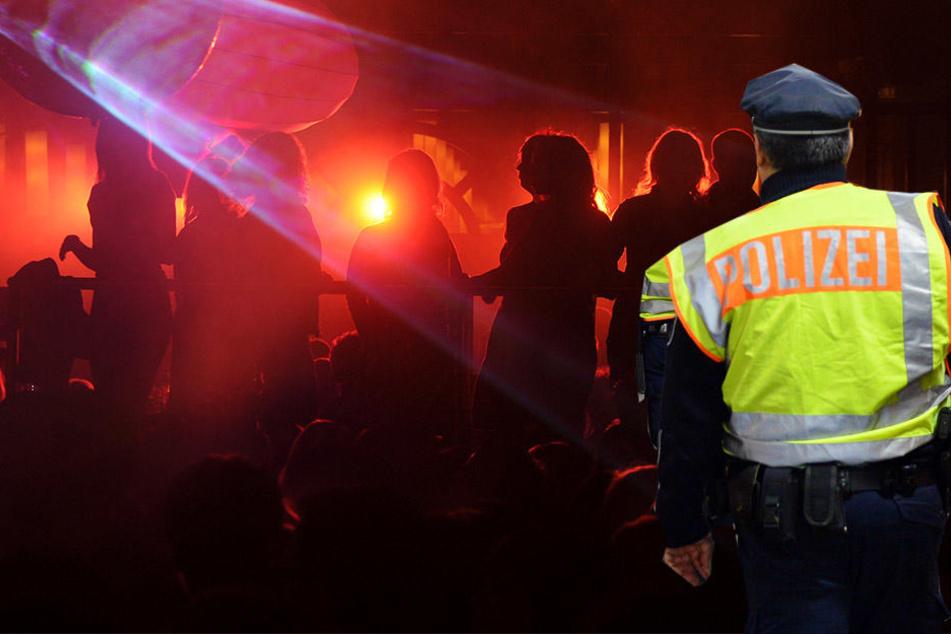 Eine illegale Party mit rund 250 Gästen wurde am Sonntag in Leipzig aufgelöst. (Bildmontage)