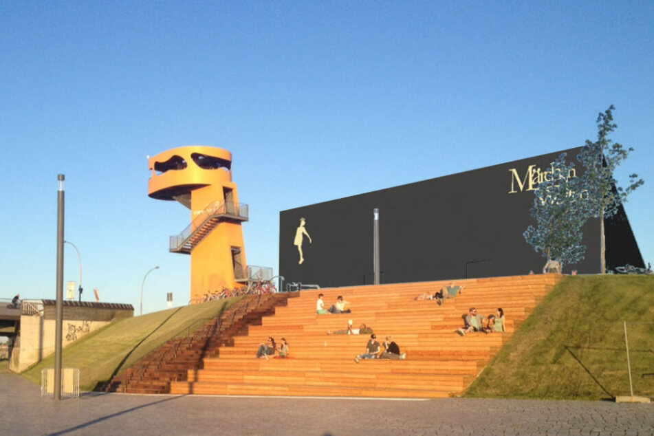 So soll die neue Märchenausstellung am Hamburger Baakenhafen ab Frühjahr 2019 aussehen.