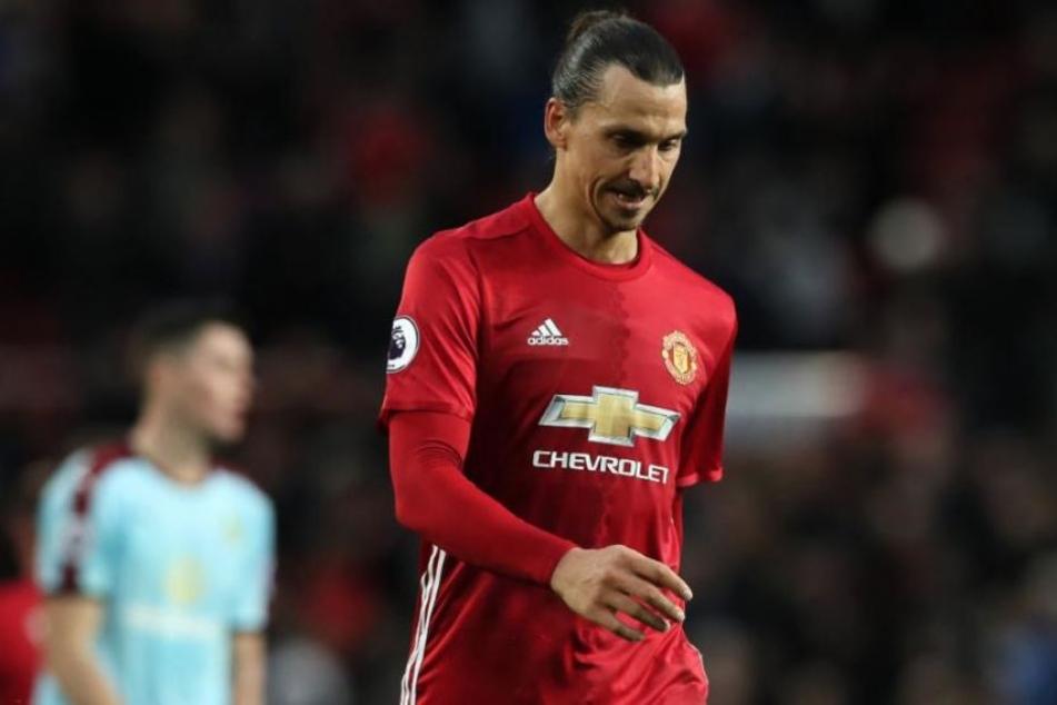 Ibrahimovic nie mehr im Trikot von Manchester United? Die Zeichen für einen Abschied sind deutlich.