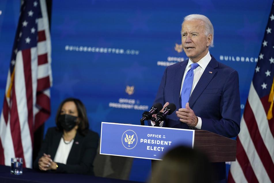 Joe Biden, Gewählter Präsident (President-elect) der USA.