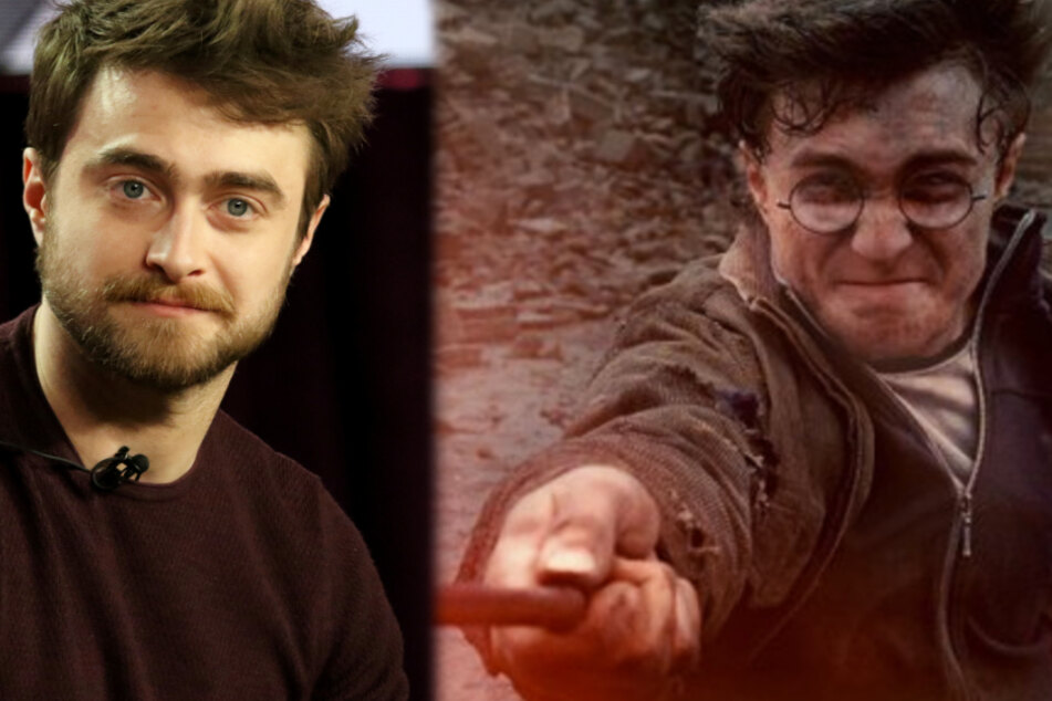 "Daniel Radcliffe spielte den ""Harry Potter""."