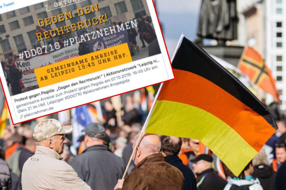Leipziger Aktivisten machen gegen Pegida mobil