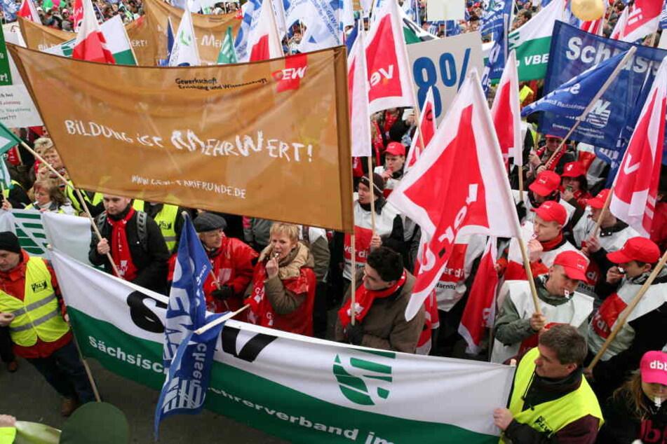 Für Mittwoch ruft die Lehrergewerkschaft GEW zum Streik auf.