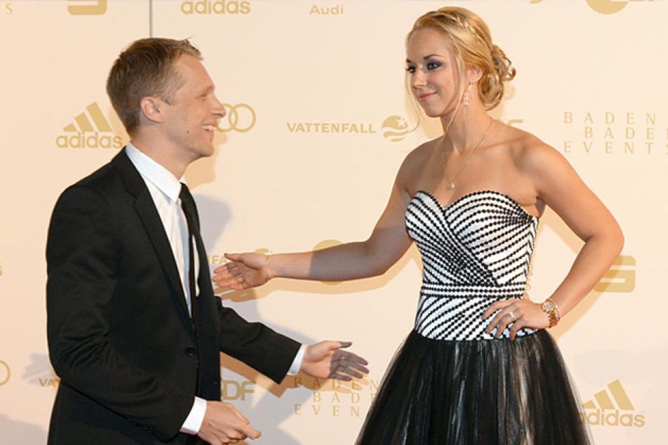 Diese zwei scheinen heute nicht mehr viel voneinander zu halten: Oliver Pocher (39) mit seiner Ex Sabine Lisicki (27).