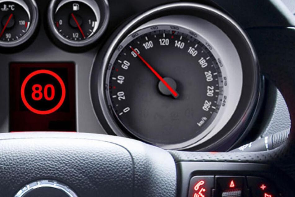 Mehrere Fahrer berichteten davon, dass ihnen keinen Schilder aufgefallen waren (Symbolfoto).
