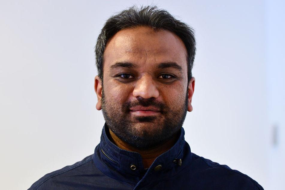 Suleman Malik ist der Sprecher der Ahmadiyya-Gemeinde in Erfurt.