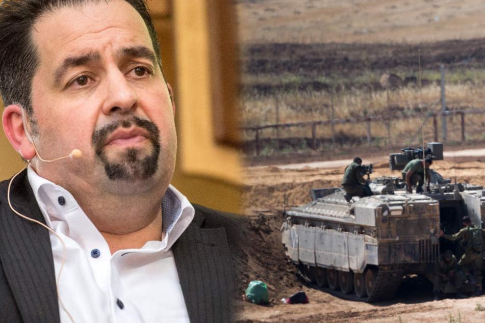 Aiman Mazyek (49) ist Vorsitzender des Zentralrats der Muslime.