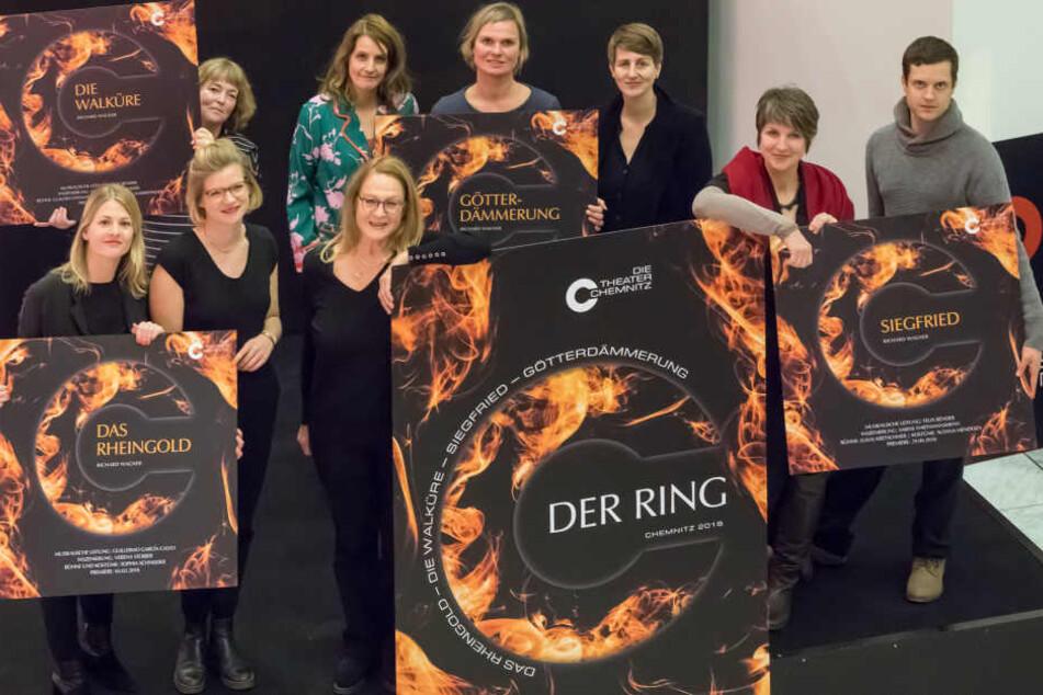 """Frauenpower für Richard Wagner: Die Opern des """"Rings"""" werden von vier Regisseurinnen und ihren Teams inszeniert."""