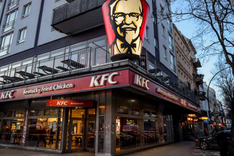 Erfreut sich auch in Deutschland immer mehr Beliebtheit: Kentucky Fried Chicken.