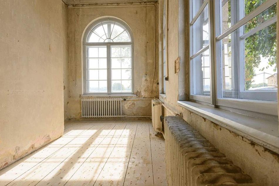 Es hat schon bessere Tage erlebt: Teile des alten Barockschlosses sind renovierungsbedürftig, doch es mangelt an Geld.