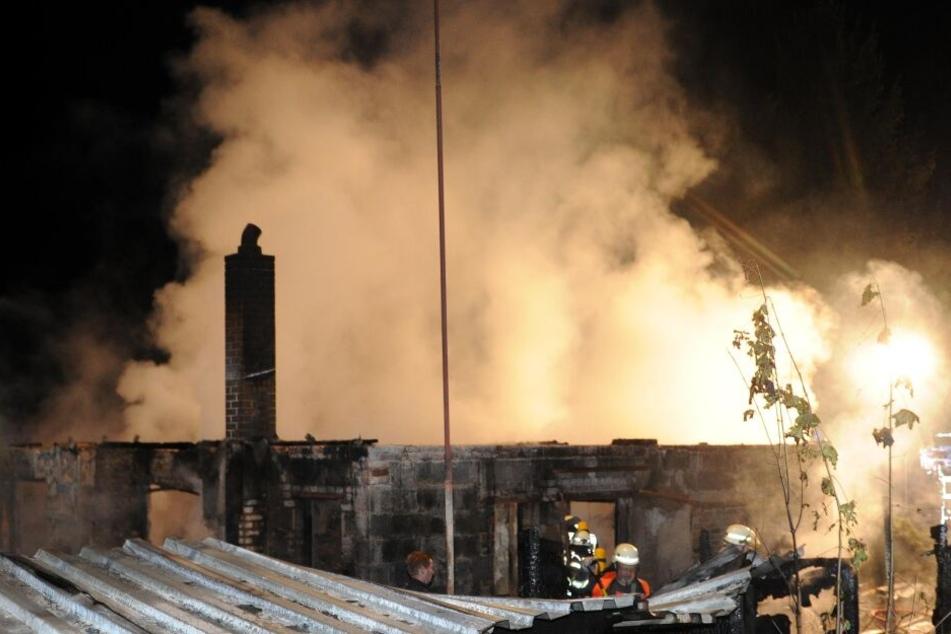 In einem Einfamilienhaus in Melchow ist in der Nacht zu Mittwoch ein Feuer ausgebrochen.