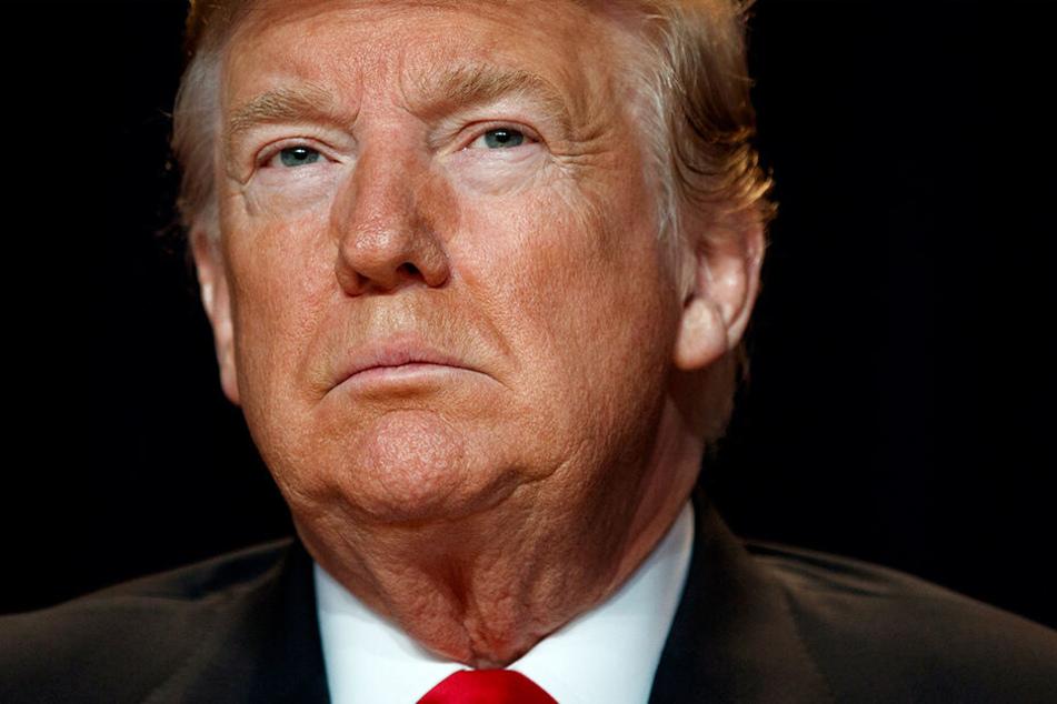 US-Präsident Donald Trump stellt mal wieder Forderungen in Richtung Europa.