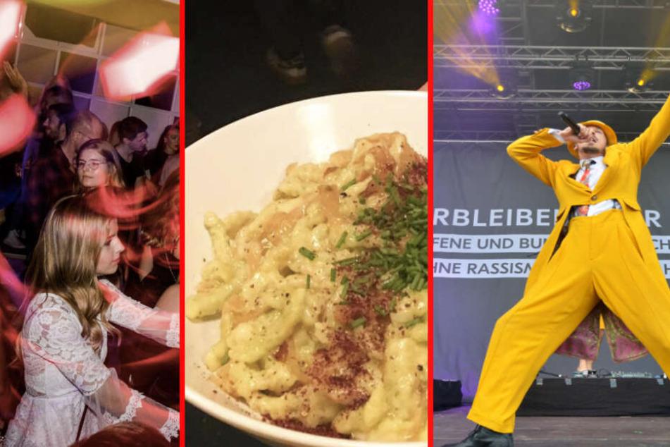 Exzessive Käsespätzle: Das ist Euer Samstag in Leipzig